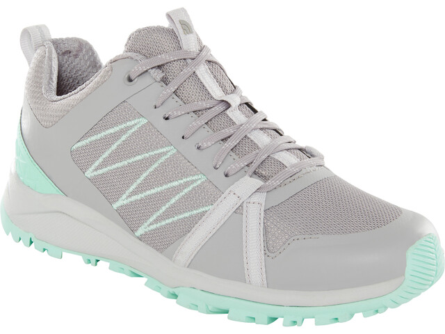 The North Face Litewave Fastpack II Shoes Dame meld grey/surf green